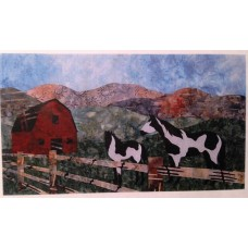 Big Sky Country Mystery USA Wall Hanging