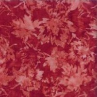 Canadian Maples (Red on Red) By Shania Sunga