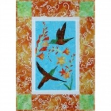 Chestnut-Bellied Hummingbird Wall Hanging
