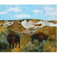 Great Plains Mystery USA Wall Hanging