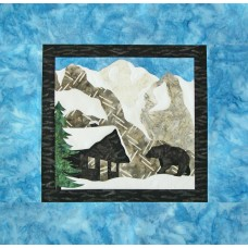 Rocky Mountains Mystery USA Wall Hanging