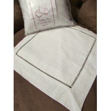Hemstitched Pillowslip with Form