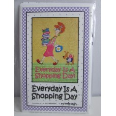 Every Day is a Shopping Day by Amy Bradley Designs