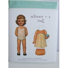 Tea Party Sundress, Bloomers & Playsuit by Oliver & S